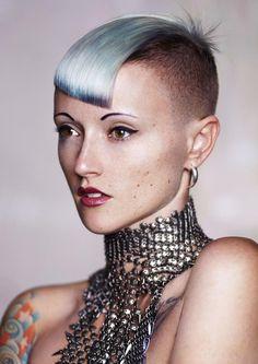 澳洲 教育家 Tracey Hughes 女士趨勢風格 Diaphanous - 趨勢髮型 - 線上訊息 - 髮型文化雜誌