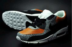 Safari inspired sneaks by Art Force One Air Max 90, Nike Air Max, Air Max Sneakers, Sneakers Nike, Nike Wedges, Nike Headbands, Nike Quotes, Nike Design, Nike Workout