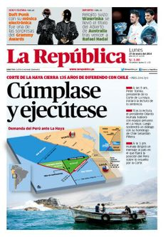 LaRepública Lima - 27-01-2014