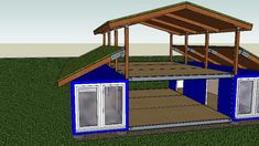Shipping Container House Floor Plans :: Lion Containers Ltd Shipping Container Buildings, Shipping Container Home Designs, Shipping Containers, Building A Container Home, Container Architecture, Sustainable Architecture, Residential Architecture, Contemporary Architecture, Architecture Design