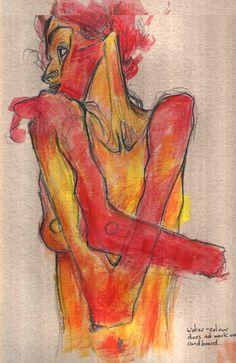 Egon_Schiele___Erotica_Woman_by_No_thing.png 536×826 pixels
