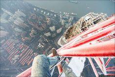 Shanghai Tower - Shanghai, China - Photograph by Ivan Kuznetsov   ~ Afraid of Heights?