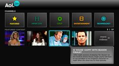 AOL HD connected TV app is now AOL On for Samsung, Roku and Sony, TiVo coming soon
