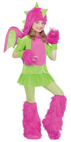 dragon girl costume - Medusa Halloween Costume Kids