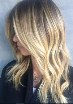 Baby Blonde Ombre- Ideas for ash blonde ombre hair and silver ombre hair