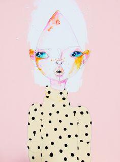 """princessconsuela: """" (via 'Good Girls' A4 Print / Sara Winfield) """""""