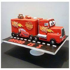 Lightning Mcqueen Cake, Truck Cakes, Crazy Fans, Trucks, Cars, Vehicles, Instagram, Autos, Truck
