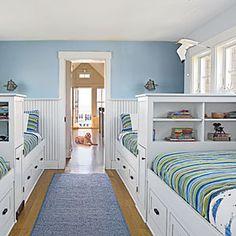 Family-Friendly Maine Cottage   Maximize Space   CoastalLiving.com