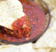 Vittles and Bits: Smoky Restaurant-Style Salsa
