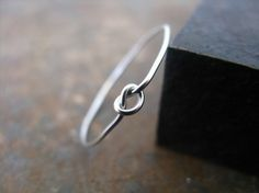 Sterling silver knot ring. by alexandra