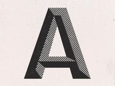 Typography / A by Paul Price