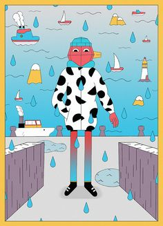 It's Nice That | Illustrator Lili des Bellons' chipper images are full of geometric whimsy