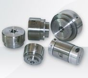 Magnetic couplings used for precise torque control, with unlimited overload cycles. Non contact couplings hence long life, used even under water. Magnetic couplings are also supplied in Stainless Steel construction