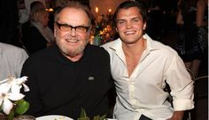 Jack Nicholson Son Ray: Actor, Look-Alike Son Ray Step Out In The Hamptons