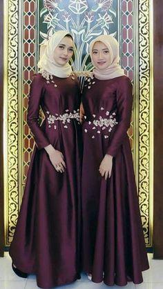 Hijab Muslim Abaya dress - - Hijab Muslim Abaya dress Source by haisayala Dress Brokat Muslim, Dress Pesta, Muslim Dress, Dress Muslim Modern, Muslim Wedding Dresses, Hijabi Gowns, Dress Muslimah, Glenda, Dress Outfits