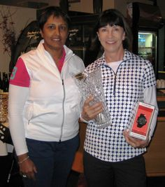 Dolly Dawson from Partridge Jewellers & 2015 overall gross winner, Shirlie Bardebes