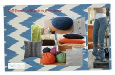 Fall Trend: Add a touch of knit by Simply Savvy #Falltrend #decor #Fall