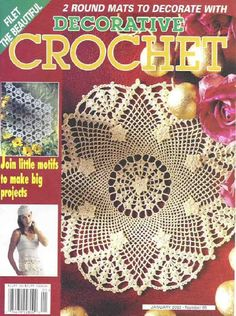 Decorative Crochet Magazines 50 - Gitte Andersen - Picasa Web Albums...THIS IS A FREE MAGAZINE!!