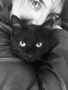 Amélie Milou #PerleNoire Prune,recueillie il y a environ 18 mois