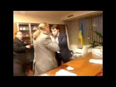 ▶ Violent video: Ukraine TV boss beaten up, forced to resign by far-right Svoboda MPs - YouTube