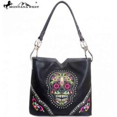 #Sugar skull purse by Montana West this has the bling and only 49.95 online http://www.endlessxpressions.com/store/#charmers