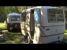 eggfest Ontario, video of inside and out egg campers, original and mod