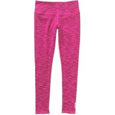 Avia Girls' Number One Space Dye Legging, Size: 10/12, Pink