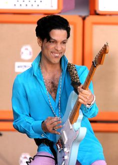 Pin for Later: Look Back at Prince's Amazing Life Through Pictures  He rocked Bryant Park during his appearance on Good Morning America's Summer Concert Series in 2006.