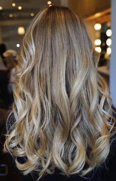 subtle blonde ombre