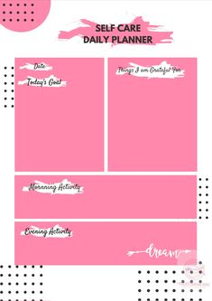Self Care Digital Planner by PescetarianGirl on Etsy