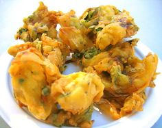Pakora recipe. Crunchy pakoras that goes well as an appetizer and the main item on Iftar menu. Posted by Rahatara.