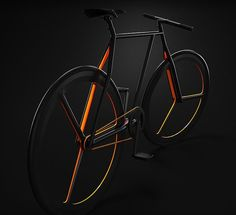 Conceptual Bike - Ion Lucin has simplified the design of a standard two-wheeler with his conceptual bike Baik that opts for three-spoked wheels, a limited use of lin...