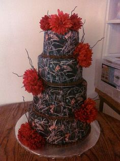 camo wedding cakes pictures | camo wedding cake | Wedding Cake Ideas for this summer and winter