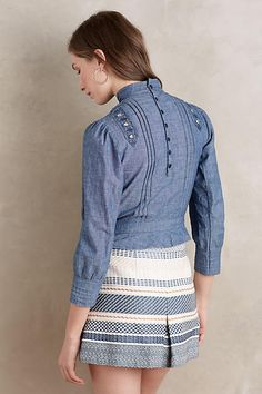 Josie Chambray Blouse - anthropologie.com