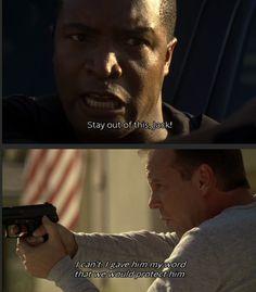 Curtis Manning and Jack Bauer; Season 6