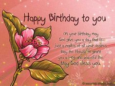 51 Best Religious Birthday Wishes Images In 2019