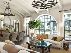 Spanish Style Living Room