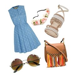 """""""Spring Time"""" by andyytorress on Polyvore featuring Nine West, Chloé and Yumi"""