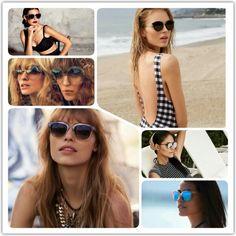 Csomagoljunk együtt a nyaralásra! Természetesen a napszemüveg sem maradhat otthon. A nagy kerek napszemüvegek a hetvenes éveket idézik, a macskás formák is nagyon divatosak  és természetesen a jó öreg pilóta szemüveg sem maradhat ki a sorból. :) #beauty #beautystic #sunglass #sunshine #summer #beach #fashion #beachfashion #sunglassfashion