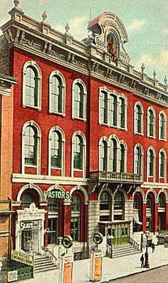 Vintage 1911 Tammany Hall, NYC, www.RevWill.com