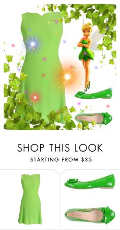 """Tinker Bell Inspired Costume"" by valegarcia-reader on Polyvore featuring moda, Versace y PrimaDonna"