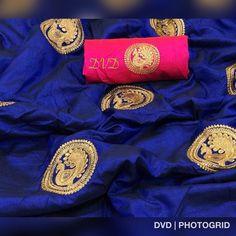 Vastrangam Sana Silk Mor Embroidery Work Saree3