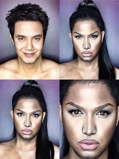 Paolo Ballesteros Makeup Transformation into Niki Minaj