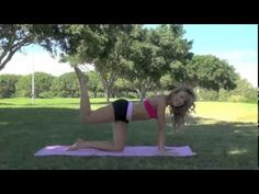 ▶ Full Length Pilates Workout: Brazilian Butt Workout from the Pilates By Lisa Online Studio - YouTube