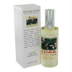 Demeter by Demeter Kahala Hawaiian Vanilla Cologne Spray 4 oz