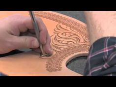 Swivel Knife Usage ~ Leathercraft Tutorial ~ Basics of Leatherwork You...
