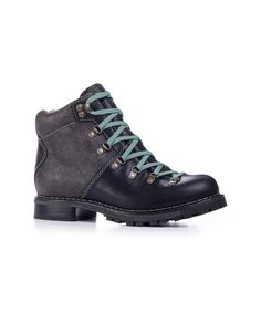 Women's Rockies Boot in Black Crackle by WOOLRICH® The Original Outdoor Clothing Company