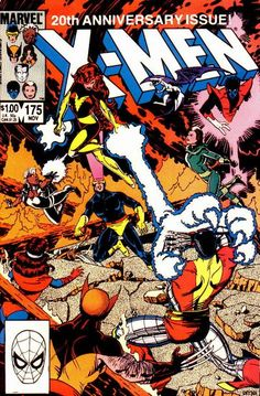Uncanny X-Men # 175 by Paul Smith  Auction your comics on www.comicbazaar.co.uk