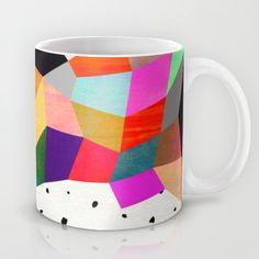 """P3"" Mug by Georgiana Paraschiv on Society6."