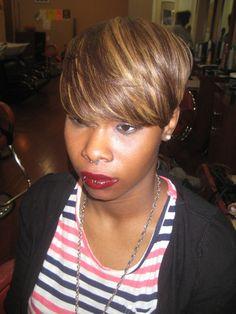 Natural hair short cuts - Sabrina The Hairstylist